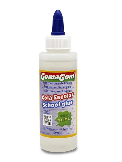 Transparent liquid glue