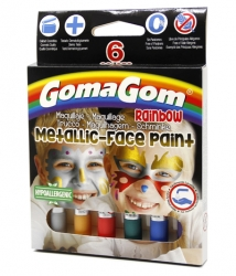 Paint Stick Rainbow Face paint Metallic
