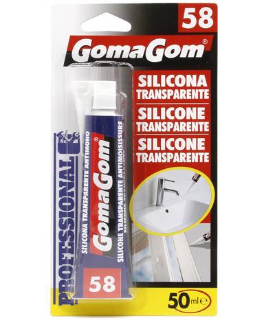 Transparent silicone