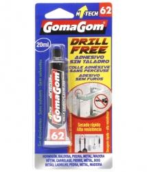 Drill free glue