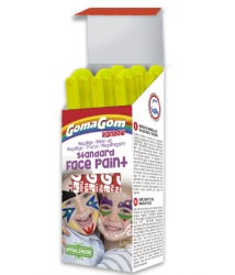 Paint Stick Rainbow Face Paint YELLOW