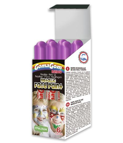 Paint Stick Metallic Rainbow Face Paint VIOLET