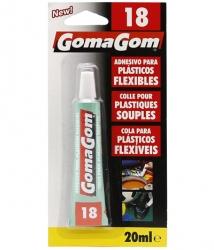 Adhesive for flexible plastics