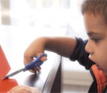 Aplicación para Student stainless scissors