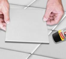 Aplicación para Adhesivo de montaje extra-fuerte