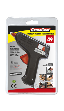 Pistola de cola termofusible 10W Gomagom