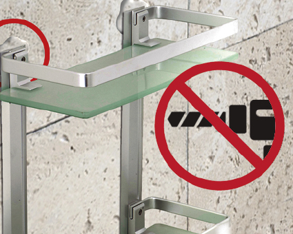 Aplicación para Adhesivo Drill free (sin taladro)