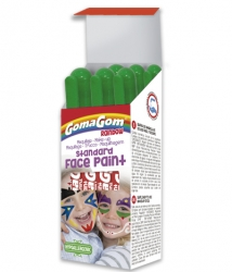 Témpera sólida Rainbow Face Paint GREEN