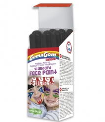 Témpera sólida Rainbow Face Paint BLACK