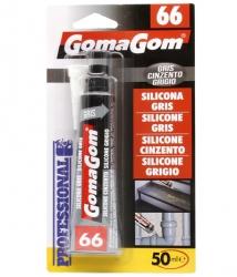 Silicona Color Gris 50ml No.66