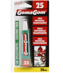 Cola universal  transparente