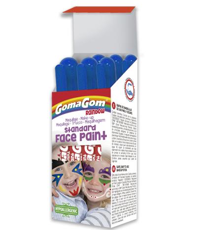 Gouache solide Rainbow Face Paint BLUE