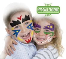 Aplicación para Gouache solide Rainbow Face Paint BLACK